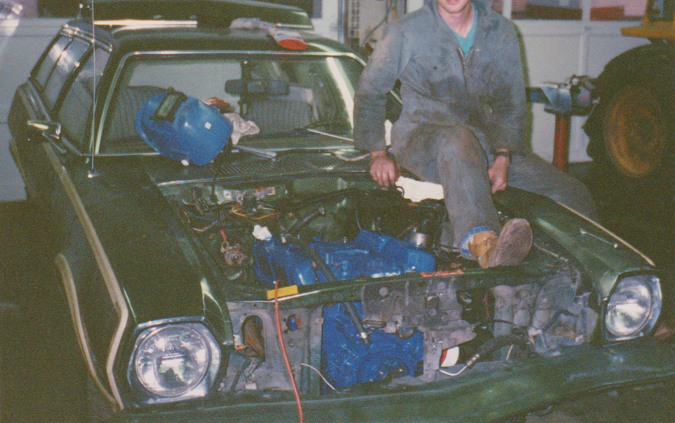 The V8 Pinto | MR  WELLWOOD'S SHOP OF HORRORS