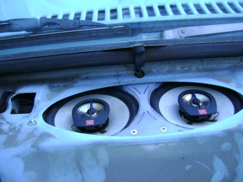 dash speakers the 1947 present chevrolet \u0026 gmc truck message Jeep Dash Speakers ditched the original 4x10 single speaker for a pair of old jbl 5 1 4\