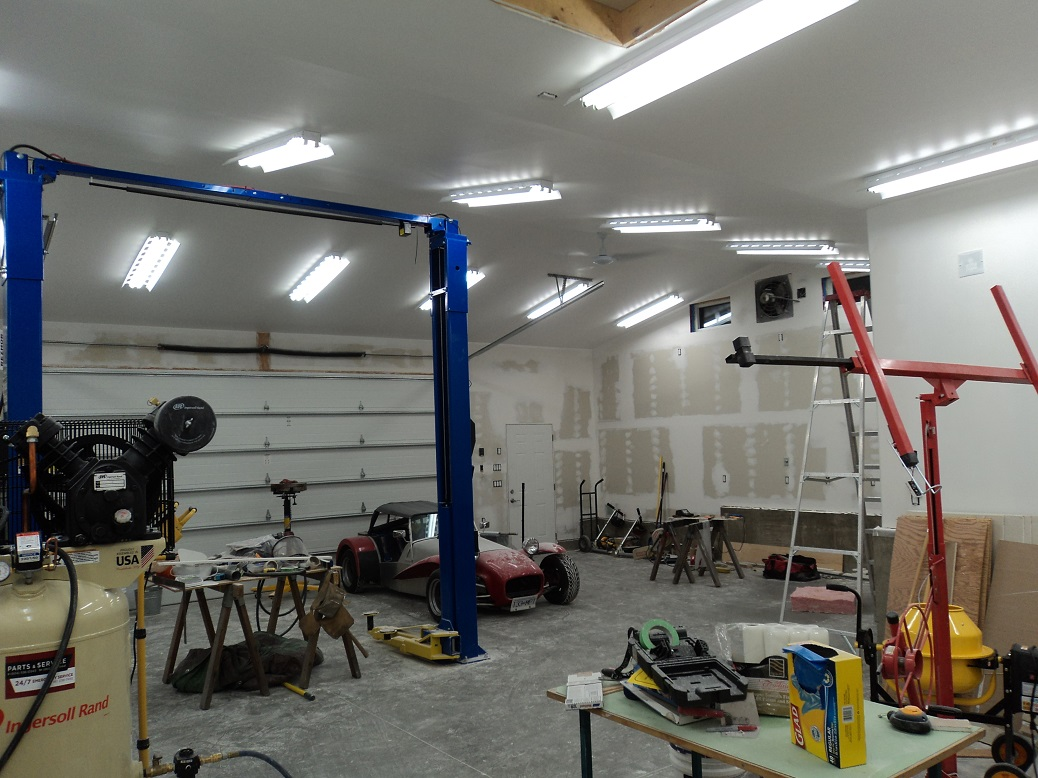 Garage Design Help Ceiling Height For A 4 Post Lift Off